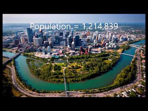 Top 10 Biggest Cities / Area In Canada 2016 - 2017