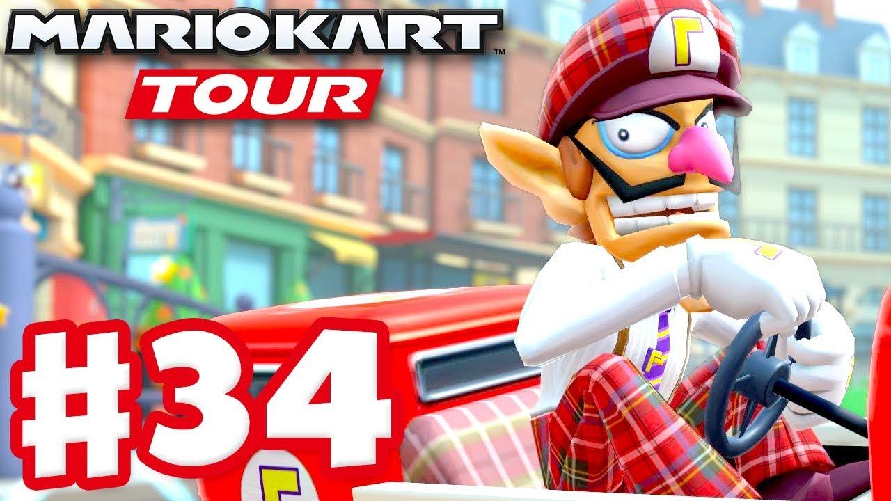 London Tour 100 Complete Mario Kart Tour Gameplay Part 34 Ios