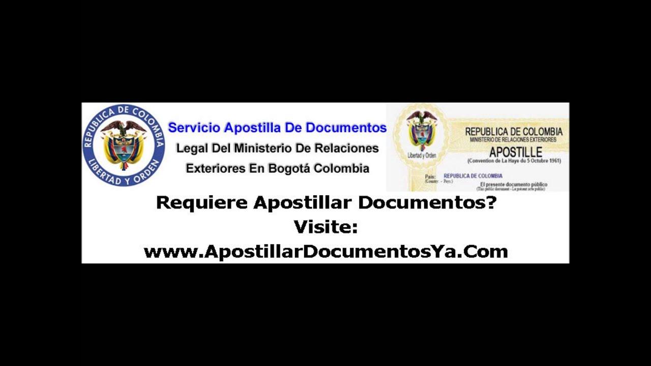 Apostillar Documentos, que es una apostilla, apostillamos sus ...