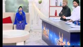 ALVIDA MAH E RAMZAN BY MAHRUKH RIAZ ON SAMMA TV 2012