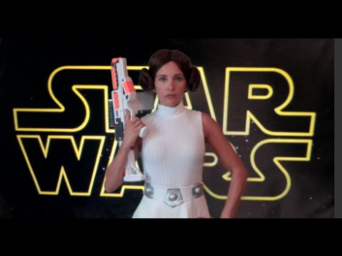 how to make a princess leia costume from star wars youtube