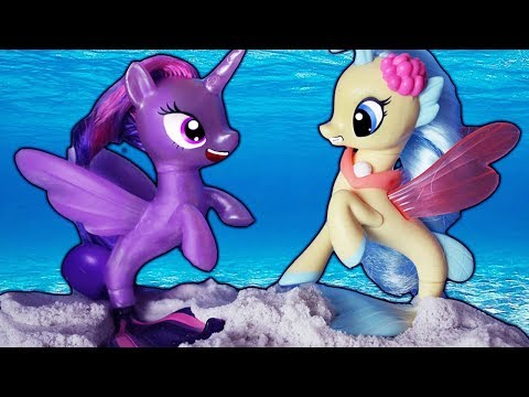 MLP Twilight's Mermaid Problem! My Little Pony The Movie   Alice LPS