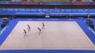 Rhythmic Gymnastics - Russia Group YOG 2010