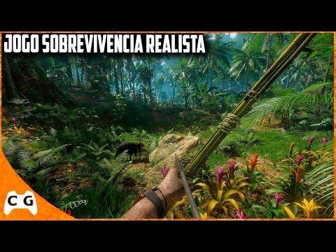 Novo Jogo De Sobrevivência Muito Realista Feito No Brasil - Seu PC Roda ? Gameplay 2.5k Ultra 1440p