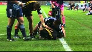 2014 Investec Super Rugby: Chiefs v Blues highlights 2017 Video