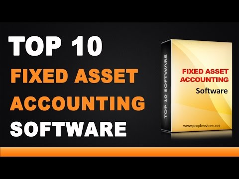 Best Fixed Asset Accounting Software - Top 10 List