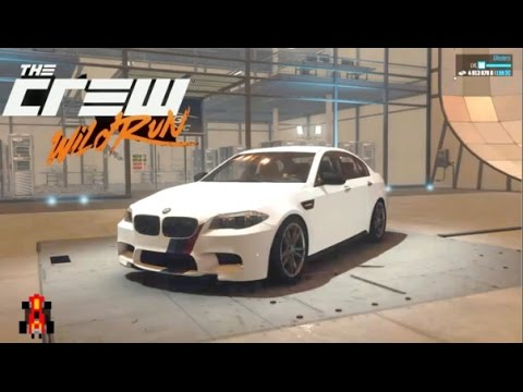 The Crew Wild Run  Drift Spec  Bmw M5  YouTube