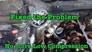 BMW Low Compression Easy Fix For Free !!! M44 M42 M50 M52 M52tu M54 M56 N52 N54 M62