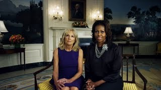 The First Lady & Dr. Biden Appear in Super Bowl Video Tribute to America
