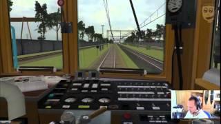 Symulator polskich pociągów - MaSzyna EN57 PKP - gameplay pl