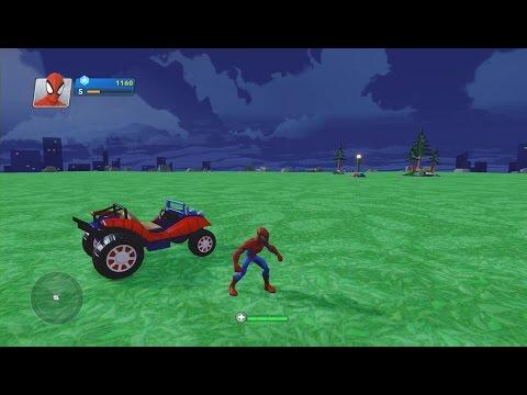 Disney Infinity 2.0-My Interior (Day 2) Spider-Man Power Discs