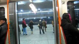 """Praha Prague Metro Czech OVERALL of """"ride in - to - get out"""" 1 train section"""