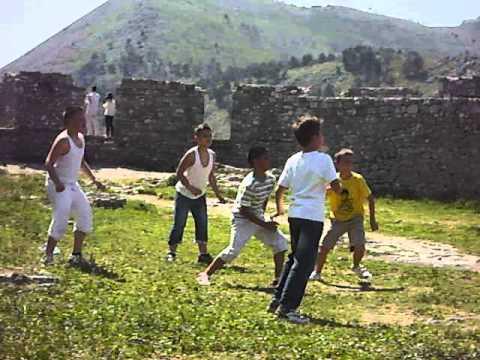 Soccer at Rozafa Castle