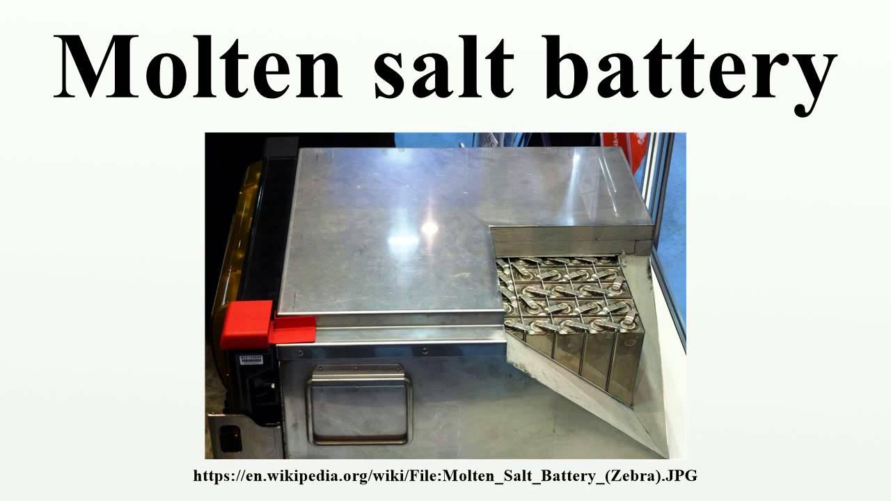 Molten Salt Battery : Molten salt battery youtube