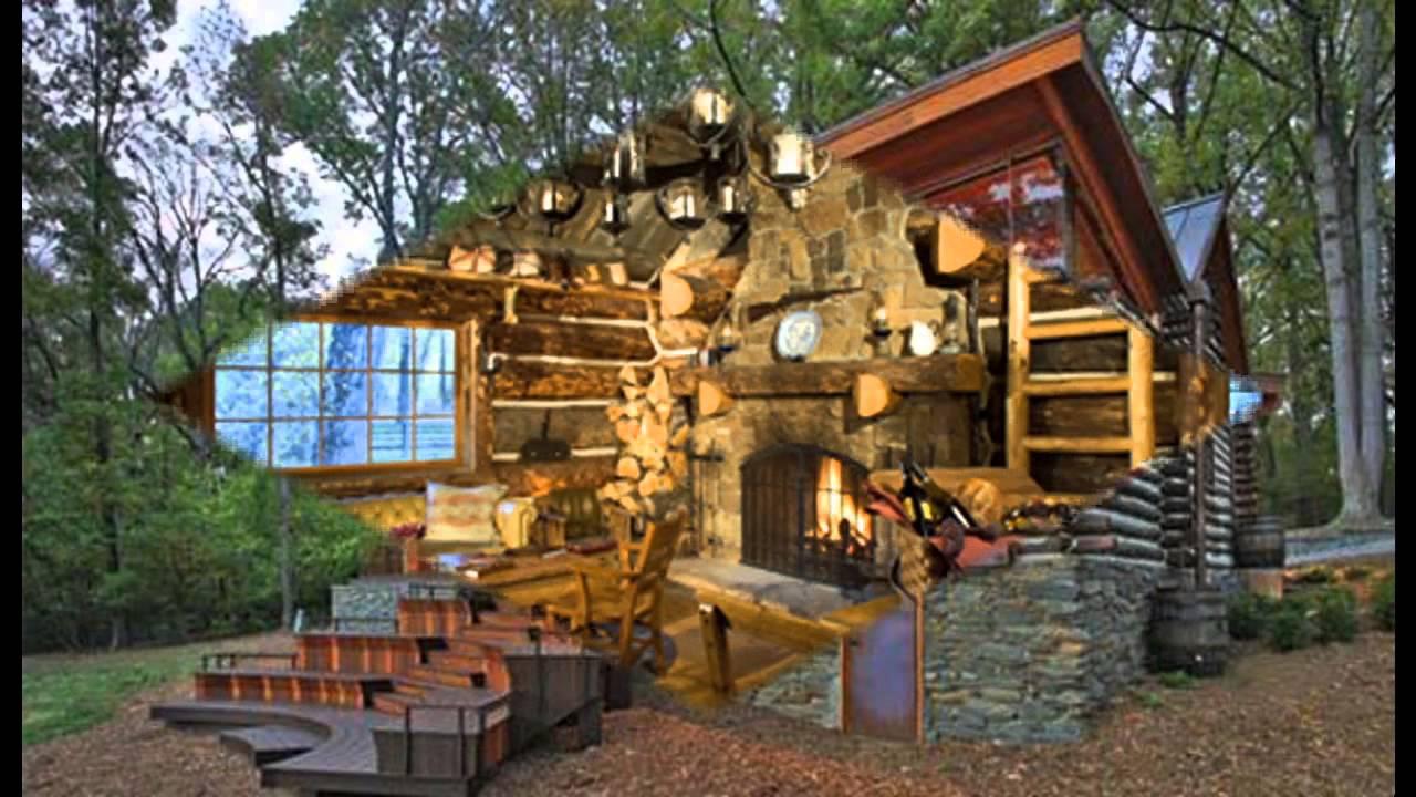 Best Log cabin decorating ideas - YouTube