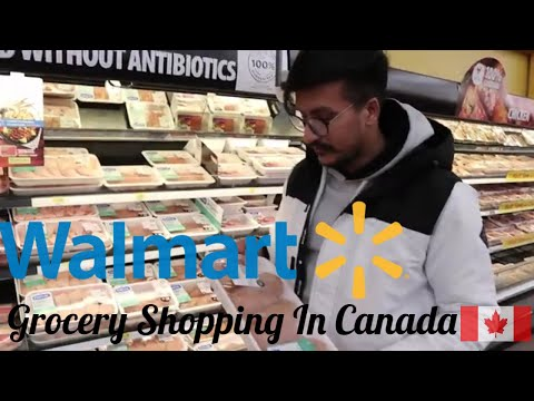 Grocery Shopping Expenses In Canada | Weekly Shopping | Walmart | Nova Scotia