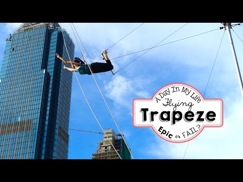A Day In My Life: Flying Trapeze Philippines