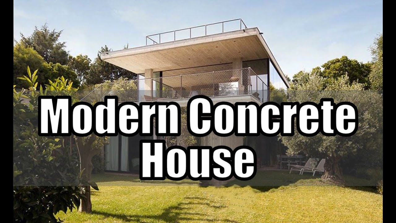 Modern Concrete House Design