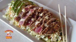 Seared Blue Fin Tuna Recipe On The Island Grillstone