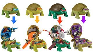 Teenage Mutant Ninja Turtles TMNT Micro Mutants Skate Park Leonardo