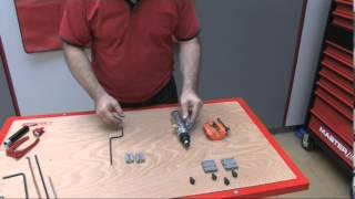 122.1260 - Appareil à collet pour durite de frein FLAREFIX avec vérin hydraulique