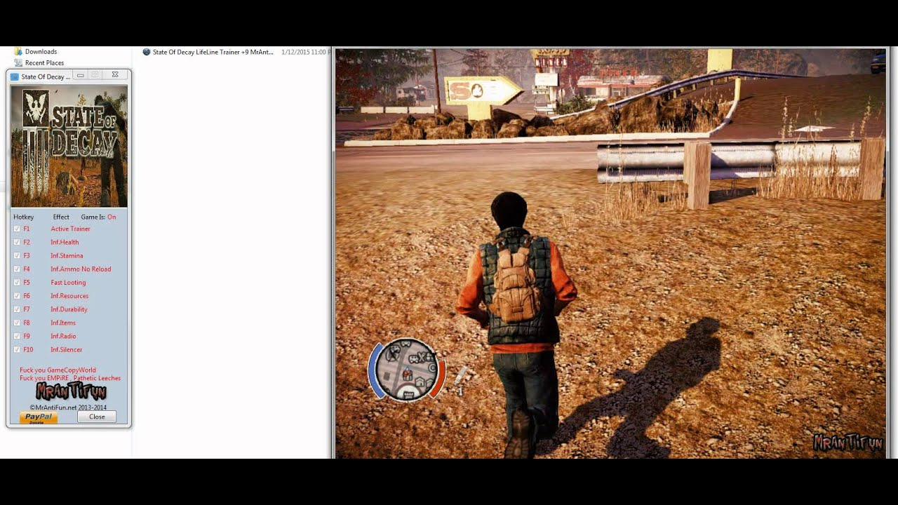 State Of Decay LifeLine Trainer +9 | FunnyCat TV