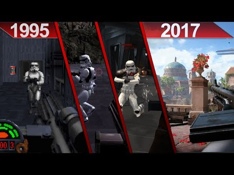 Evolution of Star Wars | First-Person Shooter Games | PC | 1995 - 2017