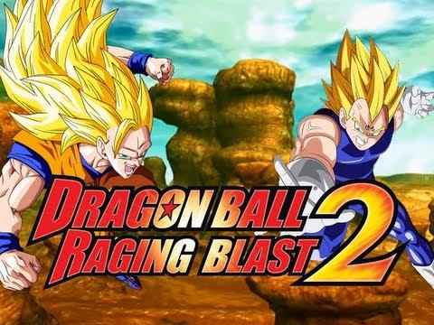 DragonBall Raging Blast 2 SSJ3 Goku VS Majin Vegeta Live Commentary