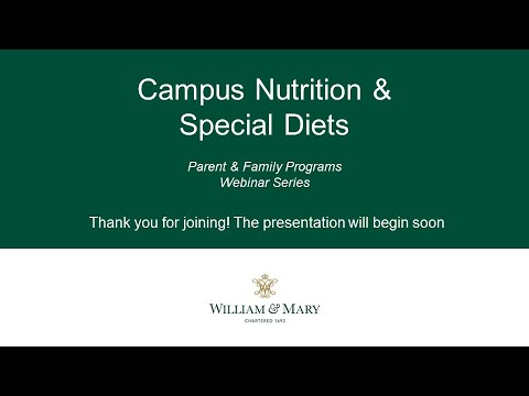 Campus Dining & Nutrition
