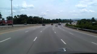 Interstate 65 South in Louisville, Kentucky
