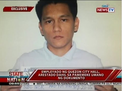 SONA: Empleyado ng Quezon City Hall, arestado dahil sa pamemeke umano ng dokumento