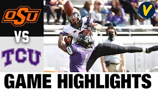 #15 Oklahoma State Vs TCU Highlights | Week 14 2020 College Football Highlights