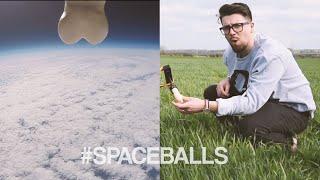We sent a pair of balls into space 🚀🍒 #SPACEBALLS