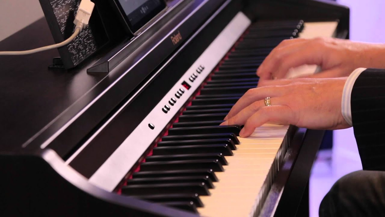 amac 2014 roland rp 401r and f130 r demo austral piano world youtube. Black Bedroom Furniture Sets. Home Design Ideas