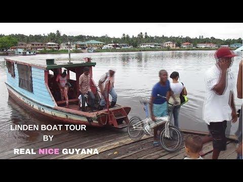 Guyana, Linden Boat Tour  (HD)
