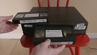VCR eats TWO tapes