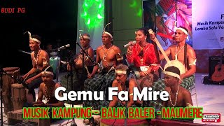 GEMU FA MIRE- MUSIK KAMPUNG MAUMERE