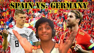 SPAIN vs. GERMANY!!!! 6-0 UEFA NATIONS LEAGUE!! *absolute MADNESS!!*
