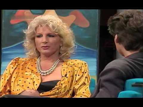 Günther Jauch im Gespräch mit SimoneYvonne Budzyn 1987
