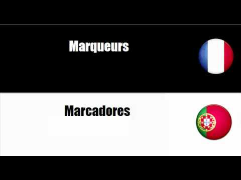 Francais portugais = fournitures de bureau youtube