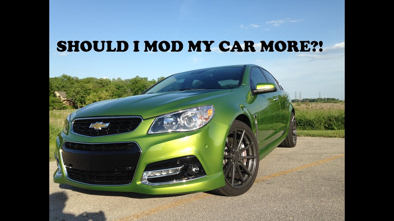 Mod list for my 2015 Chevy SS! - YouTube
