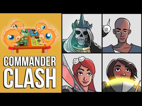 Commander Clash S5 E23: CEDH! (Najeela vs. Teferi vs. Nekusar vs. General Tazri)