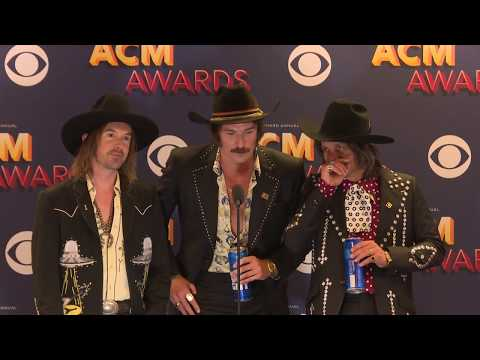 Midland Was All Smiles Backstage at the 53rd ACM Awards