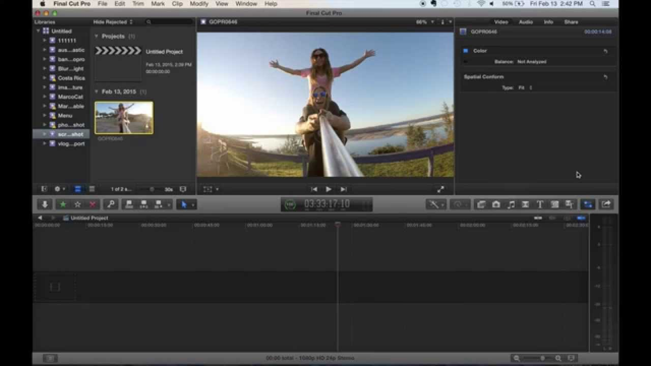 Final Cut Pro X: How To Export Still Image Off A Video Without ...