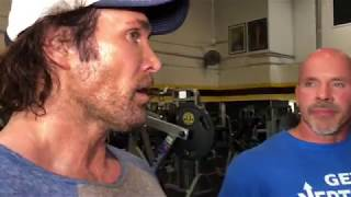 Mike  Titan O'Hearn ,  Stan Rhino Efferding and Mark Smelly Bell smashed chest