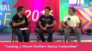 """เสวนา หัวข้อ """"Creating a Vibrant Southern Startup Communities"""""""
