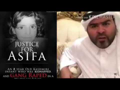 Justice for Asifa. A message from Saudi Arabia 🇸🇦 to Indian 🇮🇳