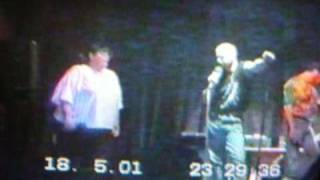 DJ Blues Dave cover of a Elvis number Don't Cry Daddy live from Graceland trip 2001 .. .wmv