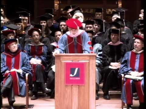 Juilliard Commencement 2011--John Adams, speaker