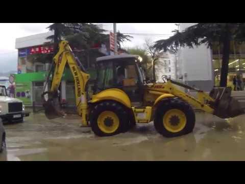 Наводнение Туапсе 24.10.18